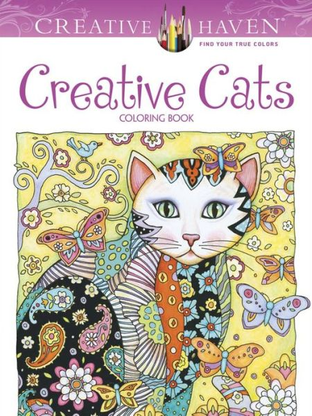 Creative Haven Creative Cats Coloring Book - ISBN13: 0486789640