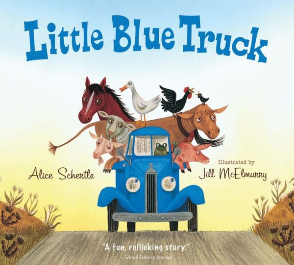Little Blue Truck Board Book - ISBN13: 0544568036