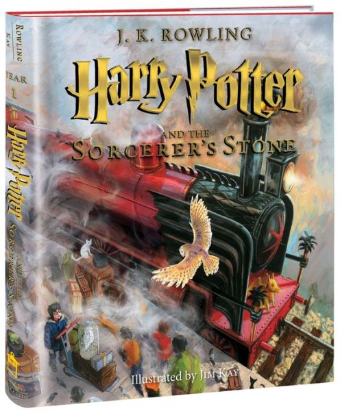 Harry Potter and the Sorcerer's Stone: Illustrated Edition (Harry Potter, Book 1) - ISBN13: 0545790352