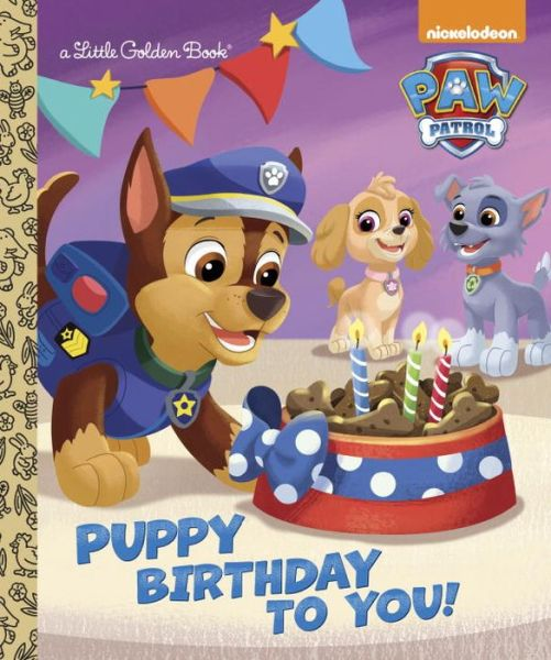 Puppy Birthday to You! (Paw Patrol) - ISBN13: 0553522779