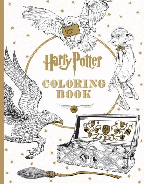 Harry Potter: The Official Coloring Book #1 - ISBN13: 1338029991