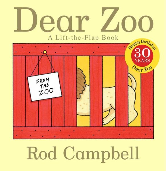 Dear Zoo: A Lift-The-Flap Book - ISBN13: 141694737X