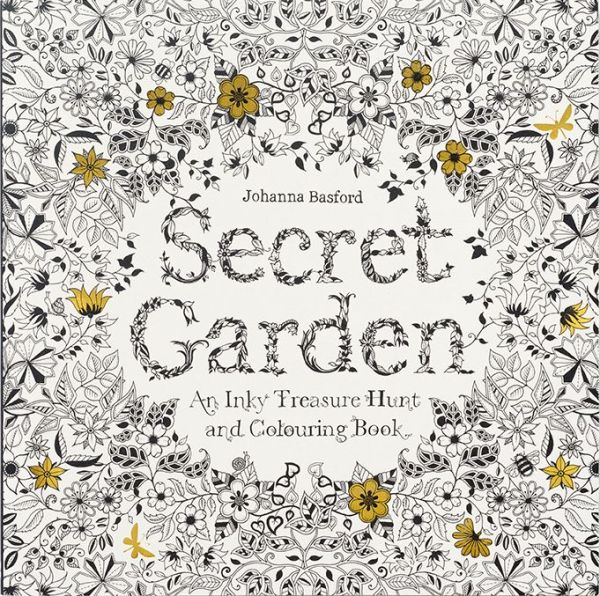 Secret Garden: An Inky Treasure Hunt and Coloring Book - ISBN13: 1780671067