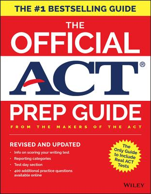 The Official ACT Prep Guide, 2018 Edition (Book + Bonus Online Content) - ISBN13: 1119386896