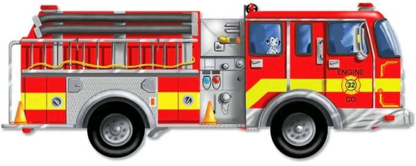 Fire Truck Giant Floor Puzzle - ISBN13: 0772004366