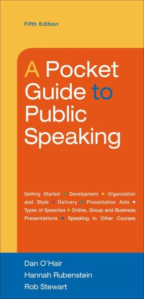 A Pocket Guide to Public Speaking - ISBN13: 1457670402