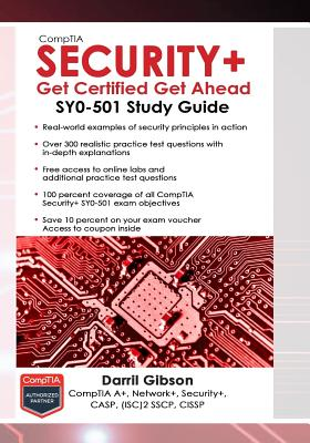 Comptia Security+ Get Certified Get Ahead: Sy0-501 Study Guide - ISBN13: 1939136059