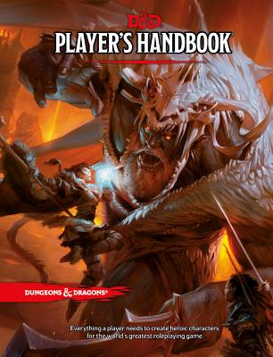 Player's Handbook: A Core Rulebook for the Fifth Edition of Dungeons & Dragons - ISBN13: 0786965606