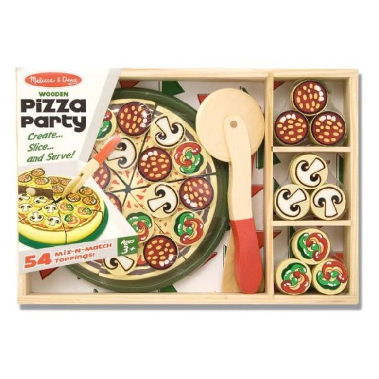 Pizza Party Wooden Set - ISBN13: