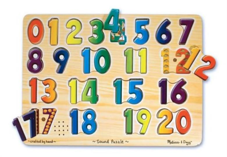 Numbers Sound Puzzle [With Battery] - ISBN13: