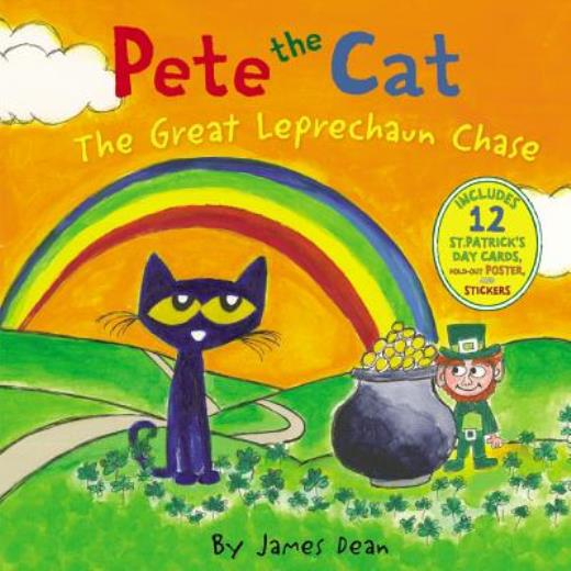 Pete the Cat: The Great Leprechaun Chase: Includes 12 St. Patrick's Day Cards, Fold-Out Poster, and Stickers! - ISBN13: 0062404504